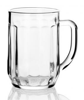 Pivní skleněný džbánek PRAHA 500 ml